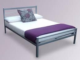 julian bowen alpen silver modern metal bed frame small double