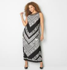chevron maxi dress chain mesh geo chevron maxi dress plus size dress avenue