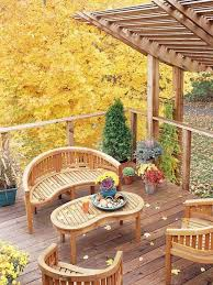 Patio Railing Designs Architecture Patio Design With Curved Brown Wood Patio