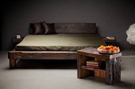 Oak Bed Reclaimed Oak Wood Beds Hand Made Rustic Bedroom Furniture Made