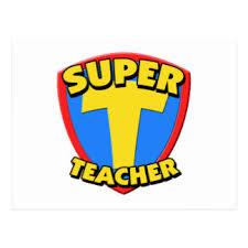 super teacher postcards zazzle