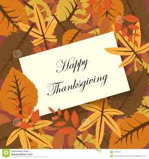 happy thanksgiving card stock vector image of 16093279