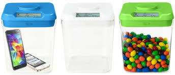 clear kitchen canisters ksafe by kitchen safe the time lock safe