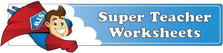 log in to super teacher worksheets