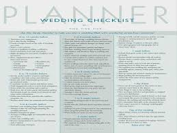 wedding planning organizer why you should not go to printable checklist for wedding