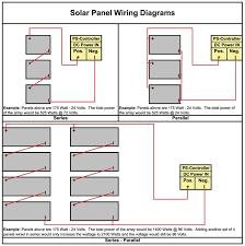 solar panel circuit diagram schematic wiring diagram and