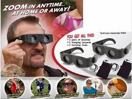 magnifying eyeglasses with light as seen on tv zoomies hands free 400 magnification binoculars multifunctional