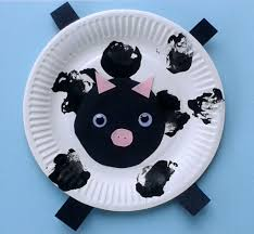 crafts for toddlers paper plate baby farm animals mess for less