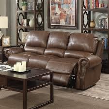 Leather Recliner Sofa And Loveseat Red Barrel Studio Crete Leather Reclining Sofa U0026 Reviews Wayfair