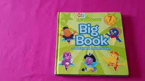 100 subscibers giveaway the backyardigans big book youtube