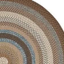 Brown Round Rugs Chenille Braided Rug When I Grow Up Pinterest Oval Rugs