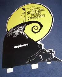 nightmare before backpack black lsb 1993 disney tim