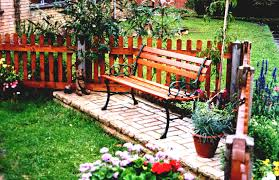 cute flower garden ideas for small yards with green grass and home