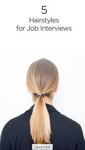 best 25 job interview hairstyles ideas on pinterest interview