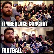 Justin Timberlake Meme - justin timberlake vs football funny