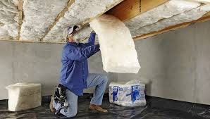 install crawl space or basement insulation crawl space