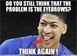 nba memes on twitter anthony davis problems http t co teozfexh