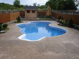 Backyard Swimming Pool Landscaping Ideas Pools Mini Inground Swimming Pool What Is The Smallest Inground