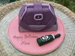purple handbag birthday cake by cakes of distinction cork ireland