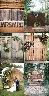 wedding backdrop rustic heart melting wedding backdrop ideas to