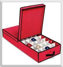 ornament storage box with 40 compartments home storage