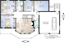 5 Bedroom Floor Plans With Basement House Plan W3912 Detail From Drummondhouseplans Com