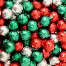 milk chocolate christmas balls 1lb