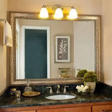 Frame Bathroom Mirror Kit Lowes Bathroom Mirror Frame Kit Silver Fresh Bathroom