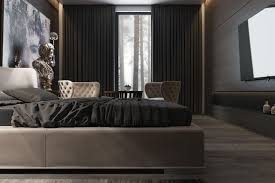 dark purple bedroom ideas yellow industrial table lamp black shag