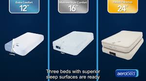 Twin Inflatable Bed by