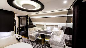 a private jet interior furnished like a vintage train u2013 robb report