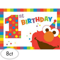 elmo birthday elmo 1st birthday party supplies party city