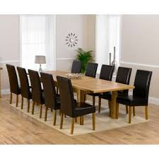 10 chair dining table set extra large dining tables wayfair co uk