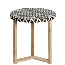 bone inlay side table antique rustic furniture oak bone side table antique rustic furniture
