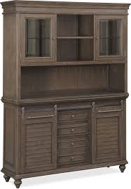 charleston buffet and hutch gray value city furniture