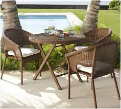 Pub Patio Furniture Small Round Patio Table And Chairs Warm Palmetto All Weather