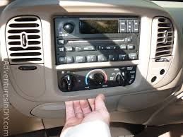 Ford F150 Truck 2000 - ford f 150 factory radio uninstall and new radio install