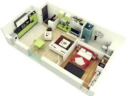1 Bedroom Design Modern 1 Bedroom House Plans