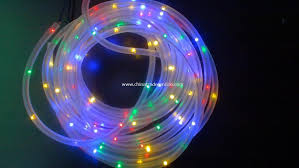 promotional led rope copper wire string lights ce lights