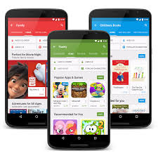 official android a new way for the whole family to play