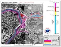 Flood Map National Weather Service Advanced Hydrologic Prediction Service
