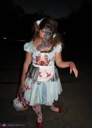 Dorothy Halloween Costume Zombie Dorothy Makeup Halloween Halloween Costumes