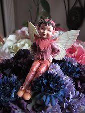 cicely barker pink garden flower ornament figurine nib