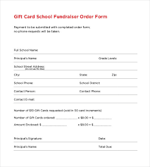16 fundraiser order templates free sle exle format
