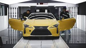 lexus used uk lexus lc begins production where the lfa used to be built the drive