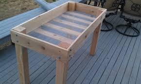 Design A Bed by Elevated Garden Bed Designs Garden Design Ideas