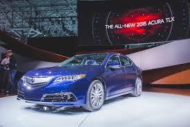 lexus es 350 vs acura tlx 2015 2014 new york acura reveals the production ready 2015 tlx midsize