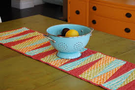 the easiest way to make quilted table runners at home modern