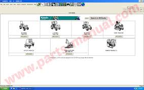 kubota parts manual