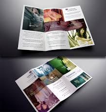 photoshop tri fold brochure template 100 images tri fold